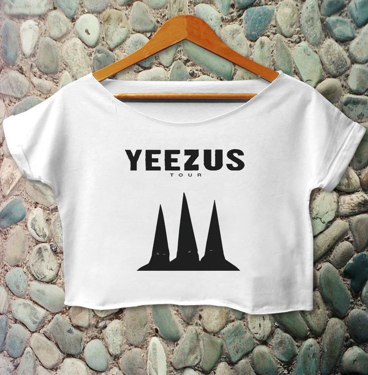 Yeezus Shirt T Shirt Kanye West Shirt Yeezus Tour Shirt Yeezus Crop Tee #Unbranded #CropTop
