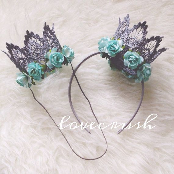 NEW Frozen Queen Elsa.. ice princess silver lace crown headband aqua floral flowers princess 1st birthday photography prop on Etsy, $22.00