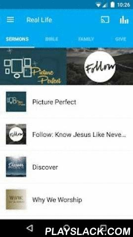 Real Life Ministries  Android App - playslack.com ,  Reaching the world for Jesus one person at a time. The church body of Real Life Ministries isn't simply satisfied to GO to church but to BE the church. The RLM App features content from Senior Pastor, Jim Putman in Post Falls, Idaho. The App is updated with audio and video podcasts every week, it also includes our weekly Home Group curriculum and access to our current events and family activities. For more information on Real Life…