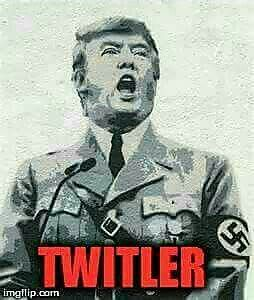 Twitler! A very dangerous man indeed because he's too stupid to know how dangerous his ignorance and arrogance really are. ~ trish