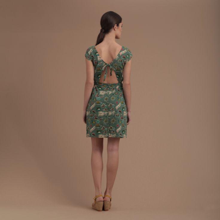 "vestido ""Capri Island"" - Nice Things - 65 E"