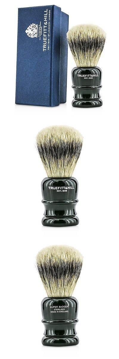 Shaving Brushes and Mugs: Truefitt And Hill Wellington Super Badger Shave Brush - # Faux Ebony 1Pc Shaving -> BUY IT NOW ONLY: $99.7 on eBay!