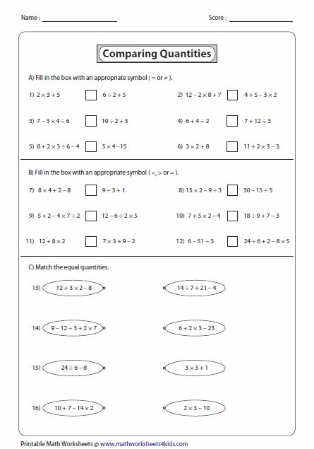 85 best Whatu0027s New images on Pinterest Worksheets, Equation and Math - order of operations worksheet