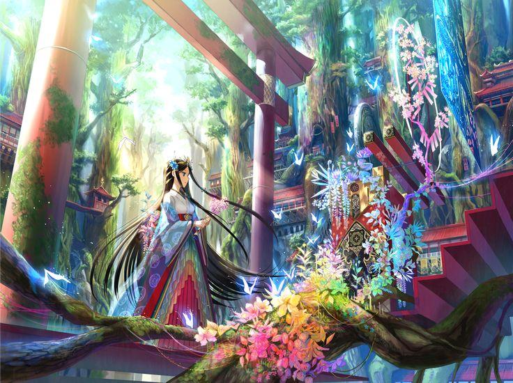 森の彩壇 / Artist: http://www.pixiv.net/member.php?id=27517