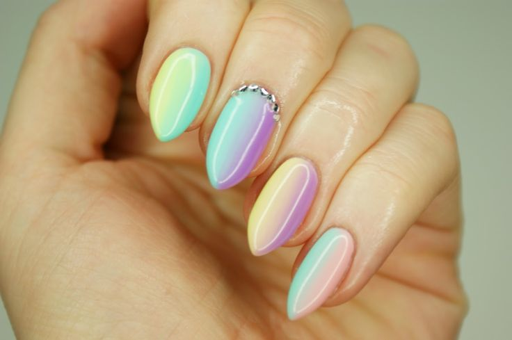 Magdalen Make'up: Manicure hybrydowy Semilac #2 - Gradient '022', '023', '047', '059'