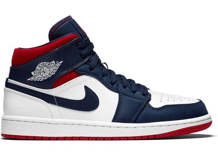 Jordan 1 mid, Sneakers