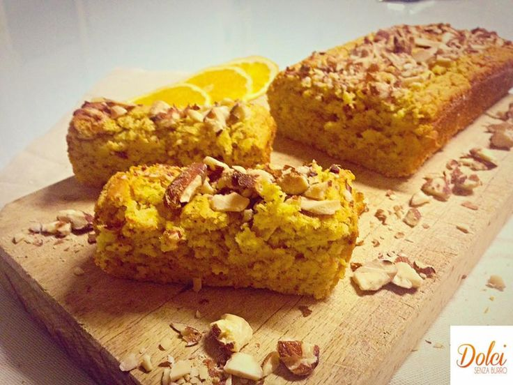 Pan d'Arancio alle Mandorle (senza burro)