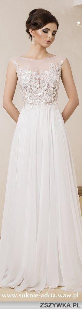 Zobacz zdjęcie to jest moja idealna suknia ślubna :* skromna ale tez z nuta elegancji. w pełnej rozdzielczości