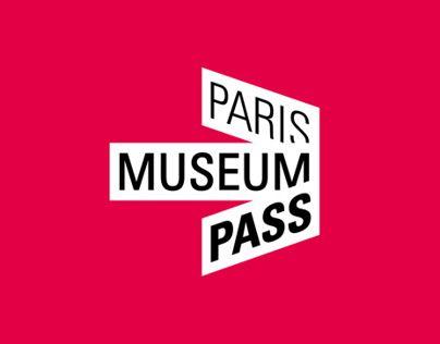 Paris Museum Pass - Brand identity