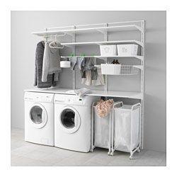 ALGOT Riel susp/baldas/tendedero - IKEA