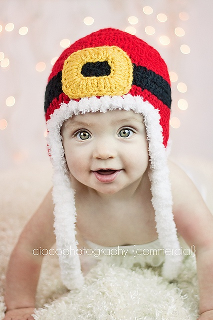 Ravelry: Santa's Holiday Hat pattern by Sweet Kiwi Crochet Kandice Oster