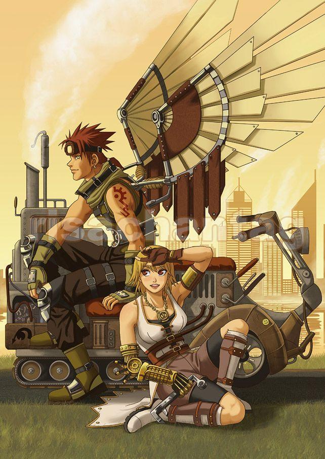 steampunk anime guy inventor wwwpixsharkcom images