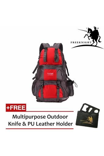 Buy Free Knight 50L Outdoor Hiking Backpack Red online at Lazada Malaysia. Discount prices and promotional sale on all Hiking Backpacks. Free Shipping.