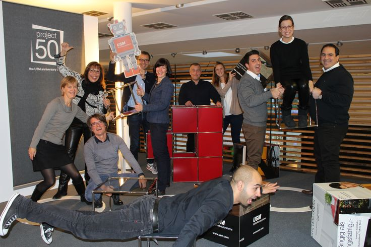 Robby had a lot of fun at our sales partner DRIFTE WOHNFORM GmbH in Moers-Kapellen.