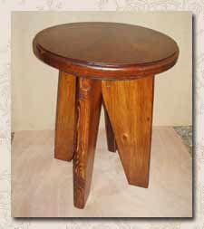 Сделай сам. Изготовление мебели и предметов интерьера из дерева. Изготовление кухонного табурета своими руками