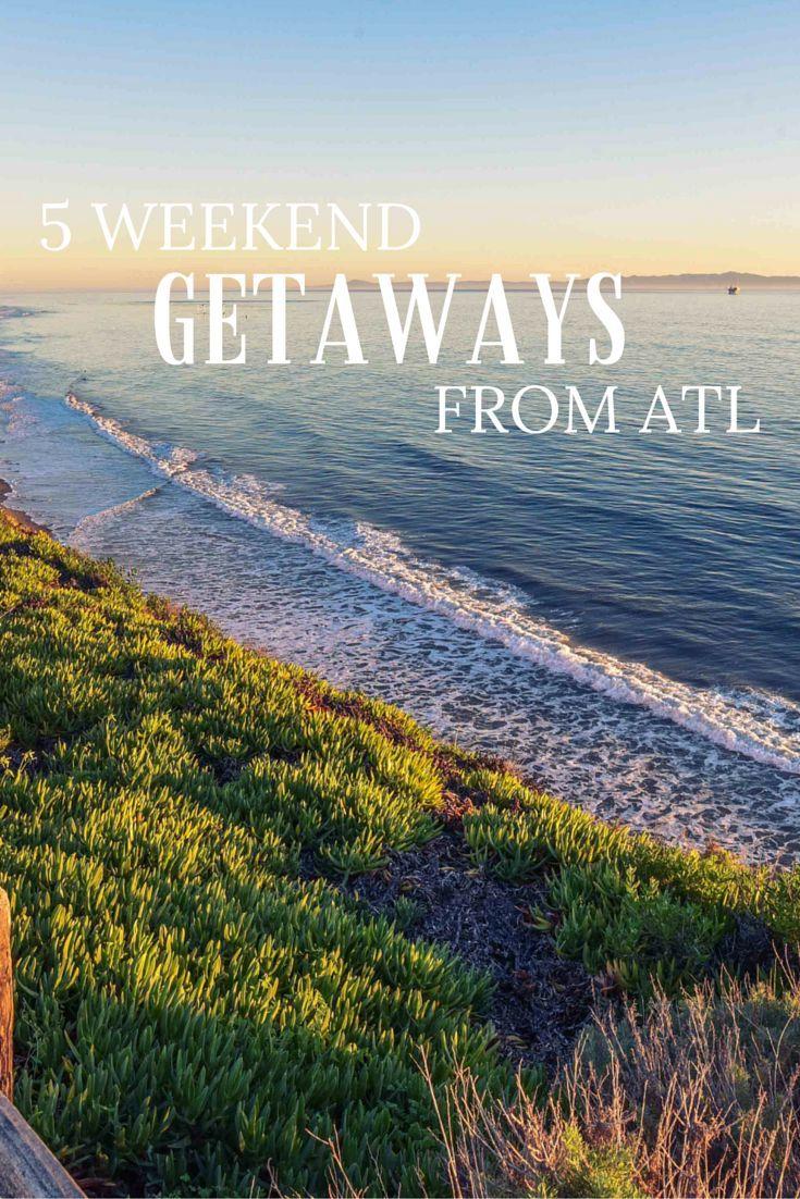 Best Weekend Getaways From Atlanta, Georgia - Thrillist