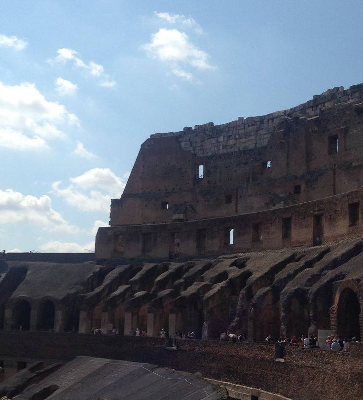 The Colosseum, day 3.