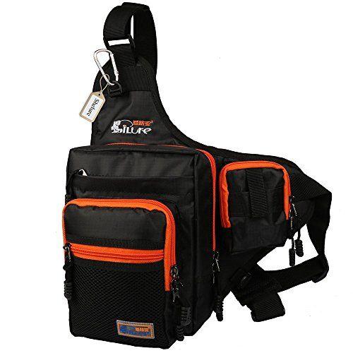 Shelure Outdoor Sports Shoulder Bag Fishing Tackle Waist Backpack Crossbody Hiking Travel Messenger Sling Bags http://fishingrodsreelsandgear.com/product/shelure-shoulder-bag-fishing-tackle-bag-chest-bag-crossbody-messenger-sling-bags-outdoor-sports-hiking-travel/?attribute_pa_color=black
