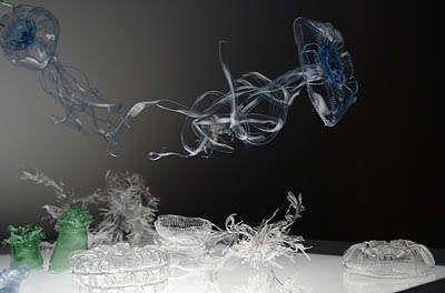 Recycled Bottle Art: Miwa Koizumi's PET Jellyfish