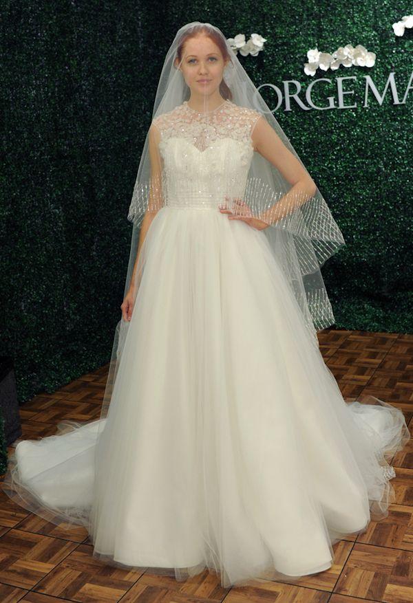 Jorge Manuel spring 2014 wedding dress see more: http://trendybride.net/jorge-manuel-spring-2014-wedding-dresses/