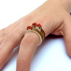 miniature house rings