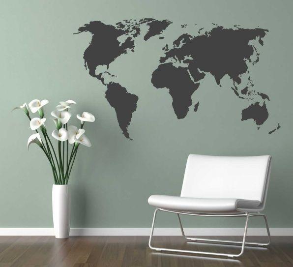 25 beste idee n over muurstickers op pinterest kelder appartement decor appartement behang - Kamer wanddecoratie kind ...