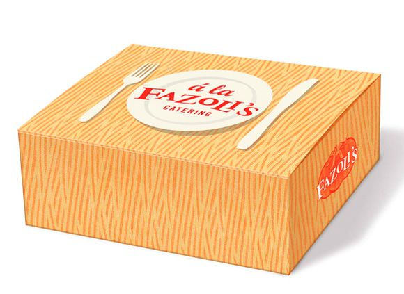Packaging Design, To-Go Box | Fazoli's - | Locomotion Creative
