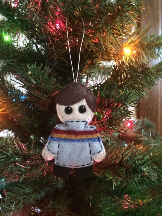 TNG Star Trek Large Wesley Crusher Felt Ornament Felt