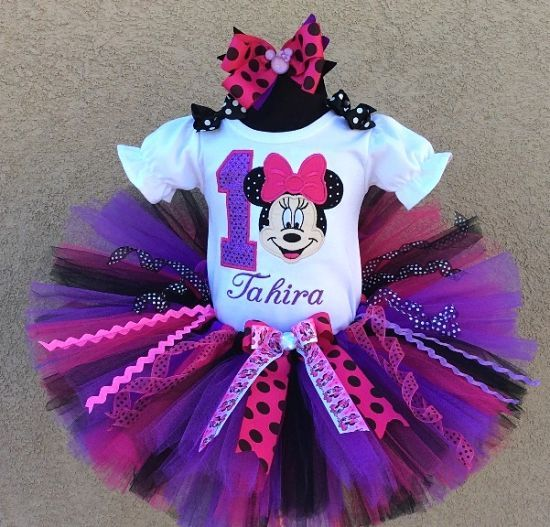 1000+ Ideas About Minnie Mouse Birthday Outfit On Pinterest