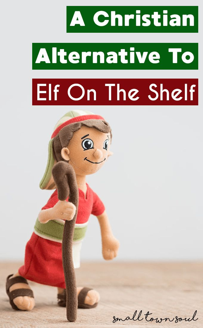 This Christian alternative to Elf on the Shelf is all about finding Christ in the Christmas season!