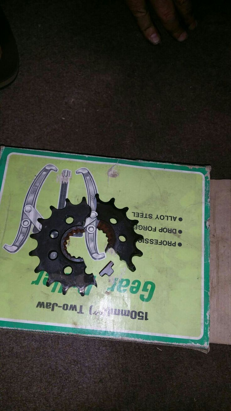 I will never ever forget this sprocket........EVER!