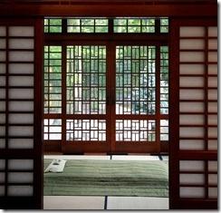 Beautiful Shoji Screens Leading To Outside #barndoor #shoji #hardware  #specialty #custom