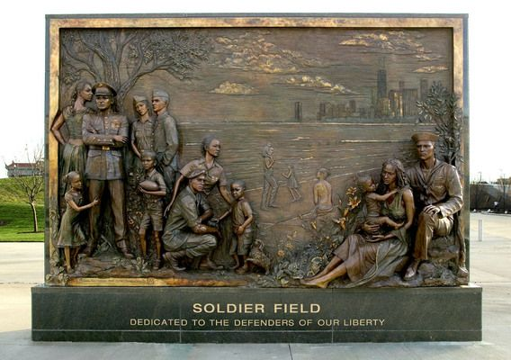 """Soldier Field """"Tribute to Freedom"""""""