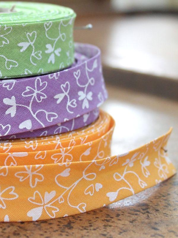Cinta Bies con motivos florales #Ribbons