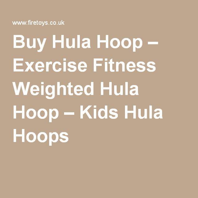 Buy Hula Hoop – Exercise Fitness Weighted Hula Hoop – Kids Hula Hoops