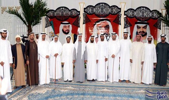 الشيخ نهيان بن مبارك يحضر أفراح العامري في العين