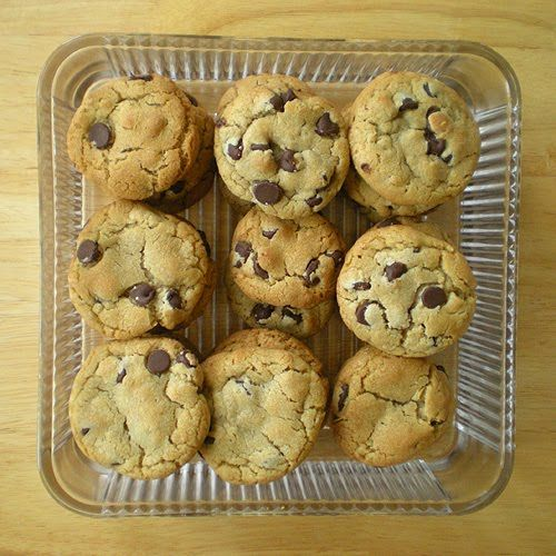 Baking with Duck Eggs - The Best Ever Chocolate Chip Cookies - Recipe   from Foy Update: Garden. Cook. Write. Repeat. (www.FoyUpdate.blogspot.com)