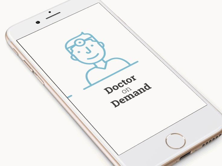 Doctor on demand ramotion design