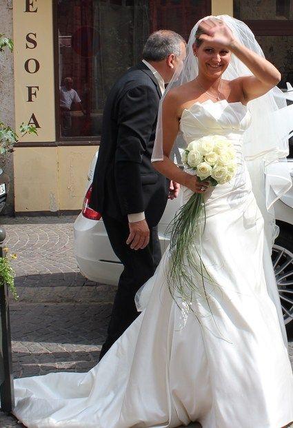 Robe de mariée marque PRONOVIAS modèle Genova à Portiragnes