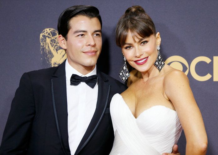 Sofía Vergara's Emmys Date Is Smoking Hot—and Isn't Her Husband Joe | Sofia Vergara brought an unexpected date to the Emmys.