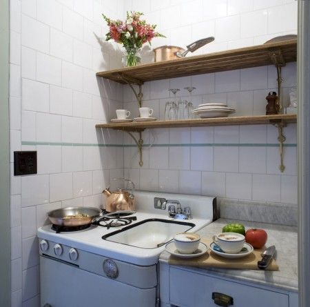 Stay Here In The East Village Lafayette House Hybrid Sink Stove Cosy Kitchenmini Kitchenkitchen