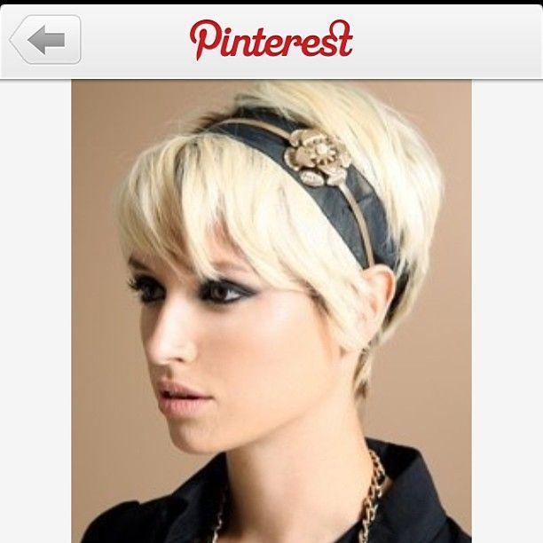 .@Samantha Jenkins   Sooooo I kinda want really short, platinum, hair!  @creativegal87  #pixiecut ...