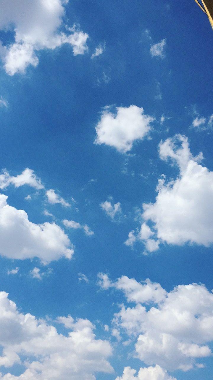 Idea By Jade On Wallpaper Blue Sky Clouds Blue Sky
