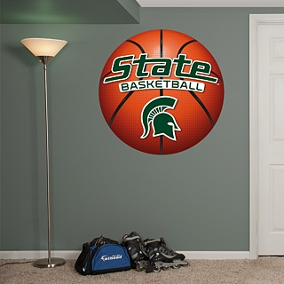 MSU Spartans Basketball Logo - Michigan State Spartans - College Sports