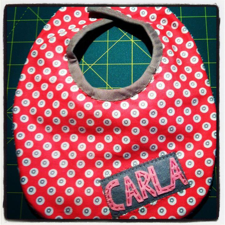 Carla's bib