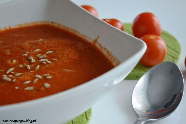 Tomato red lentils soup #tomato #redlentils #soup #zapachapetytu