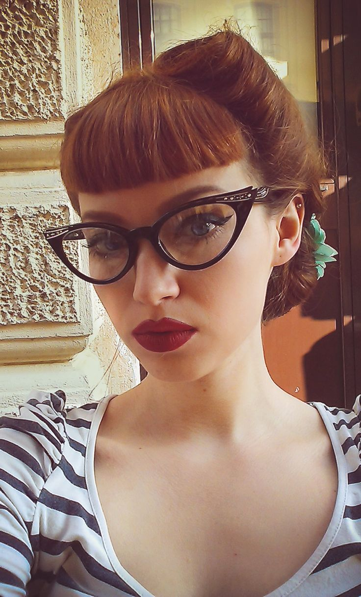 My Corner of the World — missbo: Loving the cat eye glasses! :)