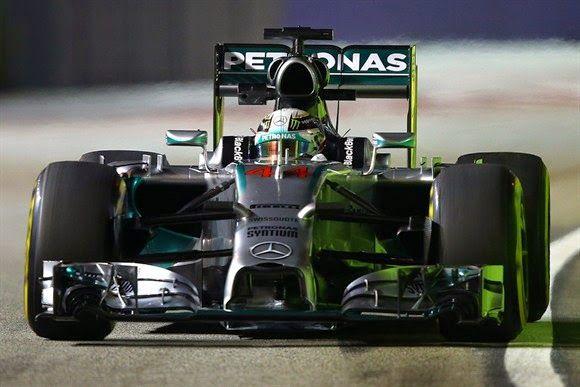 Blog Esportivo do Suíço: Hamilton supera Alonso e fecha dia de treinos como mais rápido em Cingapura