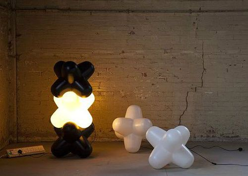 Design PVC floor lamp JACK: JLS01N  Tom Dixon