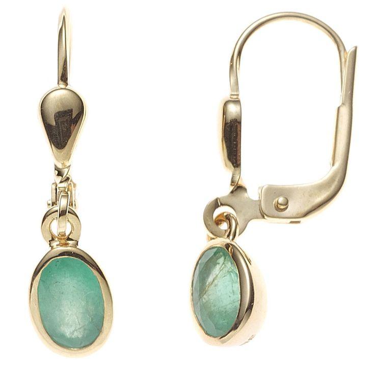 Boutons oval 585 Gold Gelbgold 2 Smaragde grün Ohrringe Ohrhänger Goldohrringe  https://www.ebay.de/itm/Boutons-oval-585-Gold-Gelbgold-2-Smaragde-gruen-Ohrringe-Ohrhaenger-Goldohrringe-/162571010002?refid=store&ssPageName=STORE:accessorize24-de